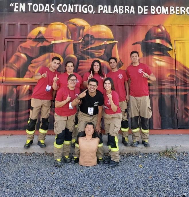 """Aspirantes participan de """"Escuela de Verano del nivel Bombero Inicial"""""""