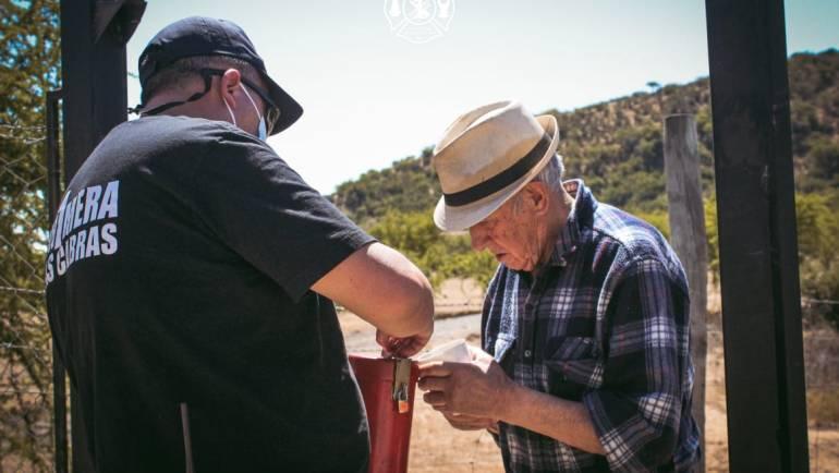"""Bomberos Las Cabras destacaron la participación de la comunidad en """"Campaña Económica"""""""